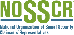 National Organization of Social Security Claimant's Representatives logo